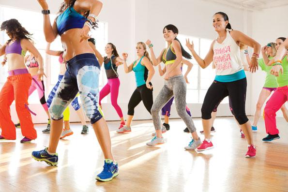 ZUMBA - танцевальная фитнес-программа в студии танца Grand Diamond