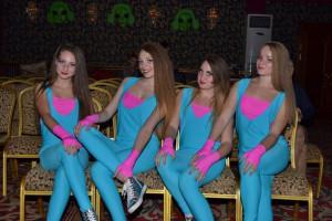 Детское танцевальное шоу в стиле HАLLOWEEN. Владивосток, 2015.