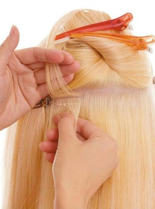 Ленточное наращивание волос во Владивостоке