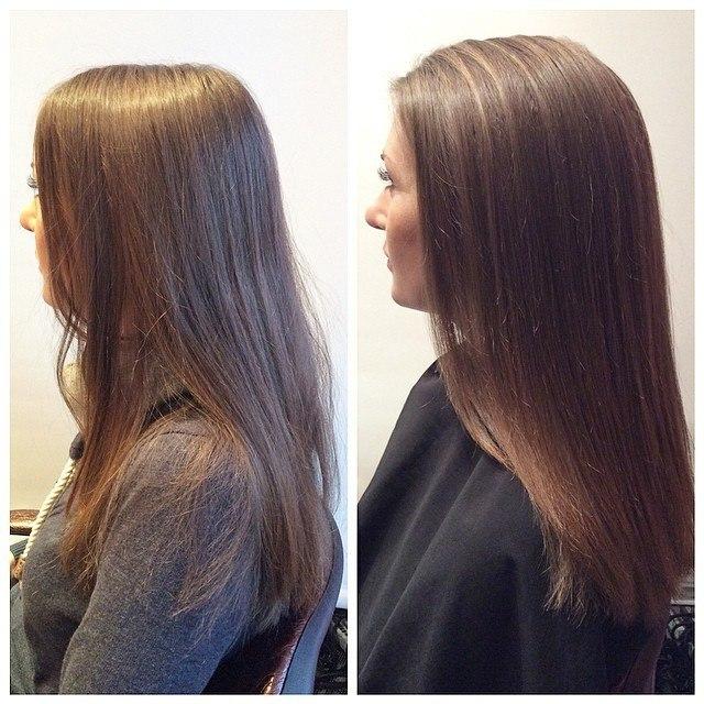 Салонная процедура Boost Up - фото до и после