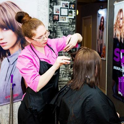 Екатерина Шкляр - парикмахер-стилист салона красоты Grand Diamond