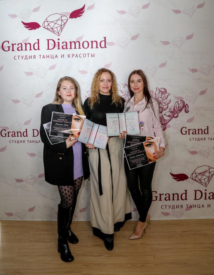 Grand Diamond - курс перманентного макияжа